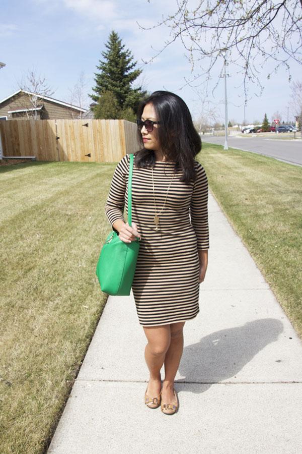 striped-t-shirt-dress-look-2