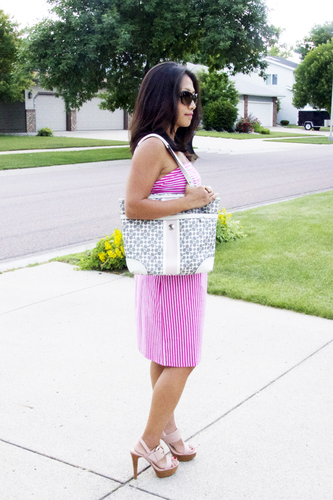 strapless-pink-stripes-dress-look3